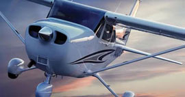 Our Cessna 172SPs offer safe, comfortable, affordable flying.